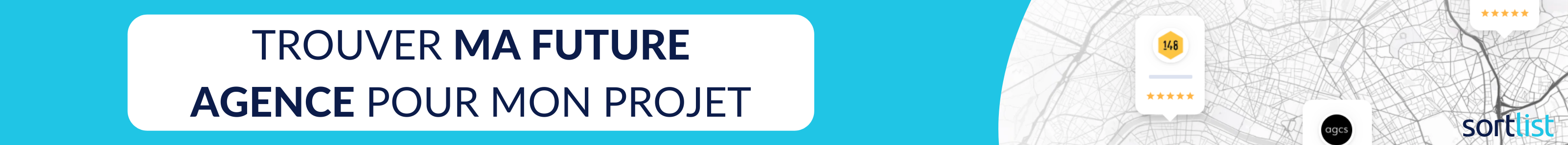 Sélectionnez votre agence avec Sortlist