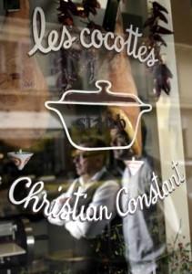 Les Cocottes, restaurant créé par le Chef Christian Constant