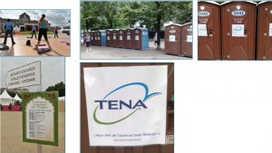 Tena, une OP en street marketing