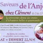 Chez Clément : 2 pages investies en presse (2008)