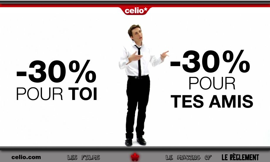 Business case de Celio, une OP de The CRM Mobile Corp