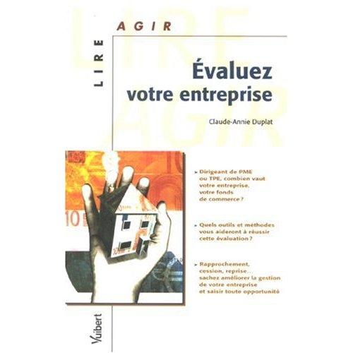Evaluez votre entreprise, de C-A. Duplat chez Vuibert