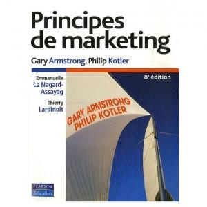 Principes de Marketing, de G. Armstrong et P. Kotler, chez Pearson Education
