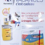 Promotion réduction de prix, cobranding promotionnel Carrefour - Kodak et carte à puce