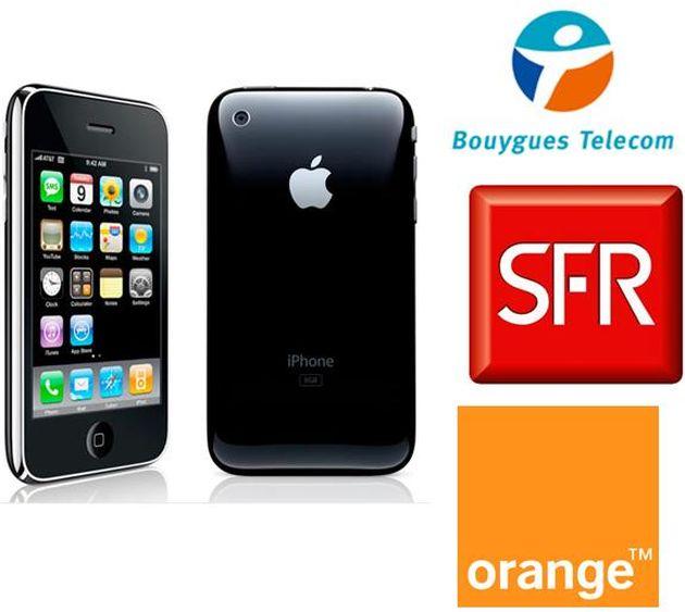 iphone et les opérateurs