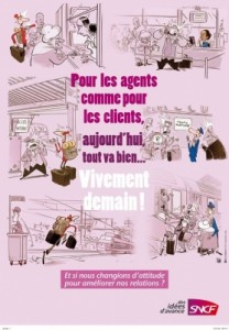 SNCF et le relationnel