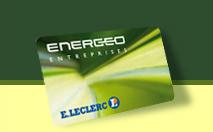 Carte Energeo de Leclerc