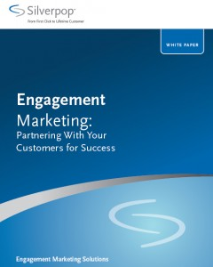 Livre Blanc de l'egagement marketing, Silverpop