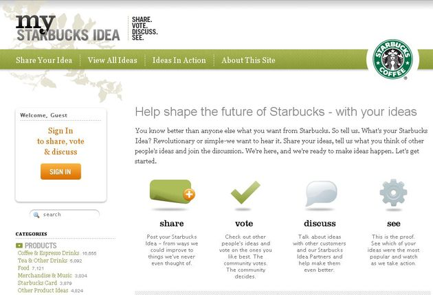 Starbucks & le marketing communautaire