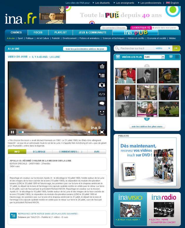 L'INA ouvre ses archives audiovisuelles et publicitaires