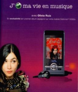 Olivia Ruiz et Sony