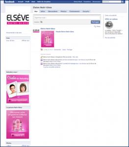 TOP 2 : Elsève s invite sur Facebook