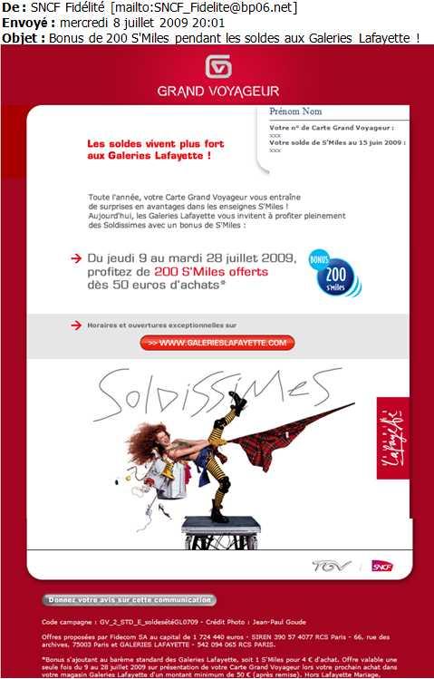 Carte Grand voyageurs Galeries Lafayette programme de ...