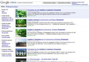 Youtube, Dailymotion et loes sites de vidéo, très utiles pour trouver une location saisonnière ou un gîte rural