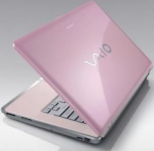 La féminisation des marques : le Sony Vaio rose