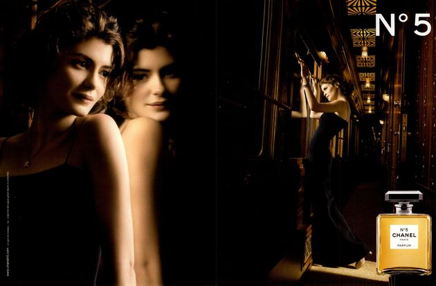 audrey tautou locomotive publicitaire pour chanel n 5 marketing professionnel e magazine. Black Bedroom Furniture Sets. Home Design Ideas