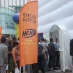 Hasbro office battle à La Défense