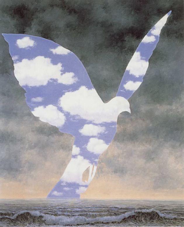 (c) Magritte 'La grande famille'