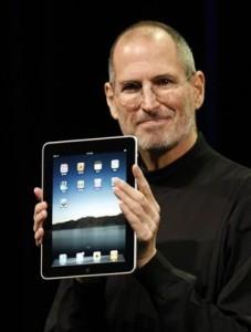 Steve Jobs  et l'iPad