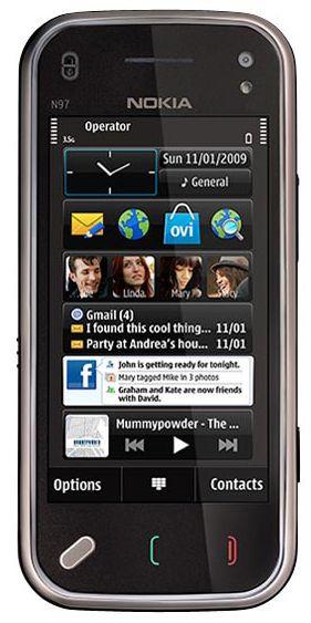 Comment corriger les paramètres de ses boites mail sur Nokia N97 mini ?