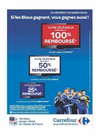 Carrefour opération cashback remboursement promotion Coupe du Monde