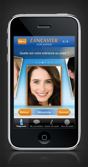 Lancaster sur iPhone : une application se voulant utile et tournée vers la cliente