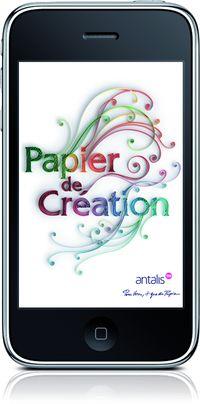 Antalis, premier distributeur européen de papier et de supports d'impression, a décliné sa collection papier de création sur une application accessible sur iPhone et iPod Touch dans le cadre de sa campagne marketing.