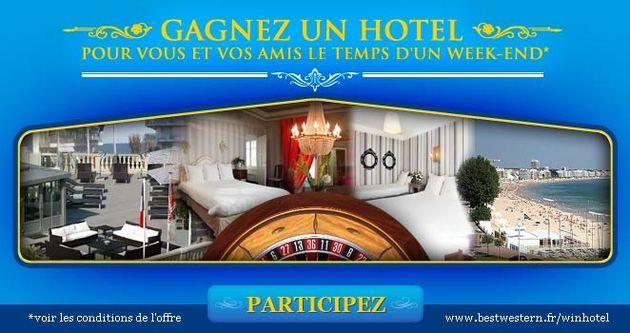 Best Western, chaîne hotelière : la marque monte d'un cran sur l'échelle des dotations habituelles des chaînes hôtelières en proposant non pas un simple séjour, mais un hôtel tout entier.