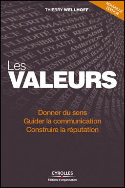 Les Valeurs, de Thierry Wellhoff, publié chez Eyrolles