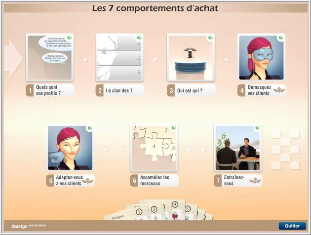 Ce concept de formation définit un programme personnalisé, composé d'une formation initiale dans l'entreprise, d'un serious game et d'un accompagnement apparenté à du coaching.