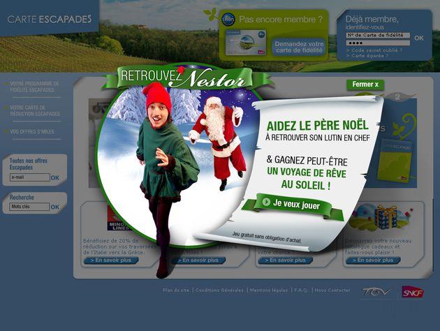 L'agence Fullsix a conçu une opération événementielle innovante pour la SNCF, fondée sur un jeu concours développé via un dispositif capable d'intégrer l'interaction synchronisée de l'internaute à la fois sur Internet et sur le mobile.