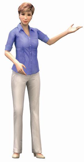 Claire, agent virtuel développé par Virtuoz pour Ciel
