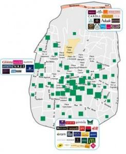 Avignon : zone commerciale