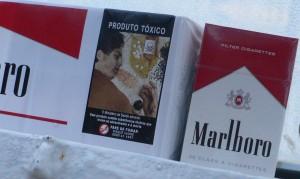 Le tabas, produit toxique. Euphémisme et image forte