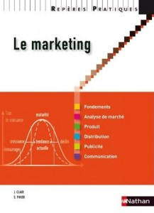 Le marketing, par J. Clair et S. Pihier, Nathan