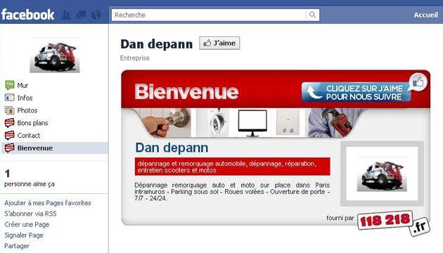 """L'offre """"Page Réseau Social"""", 118 218.fr propose un espace de communication dynamique et instantané sur Facebook et 118218.fr. Le point en exclusivité avec Mathieu Boulay, chef de projet Marketing."""