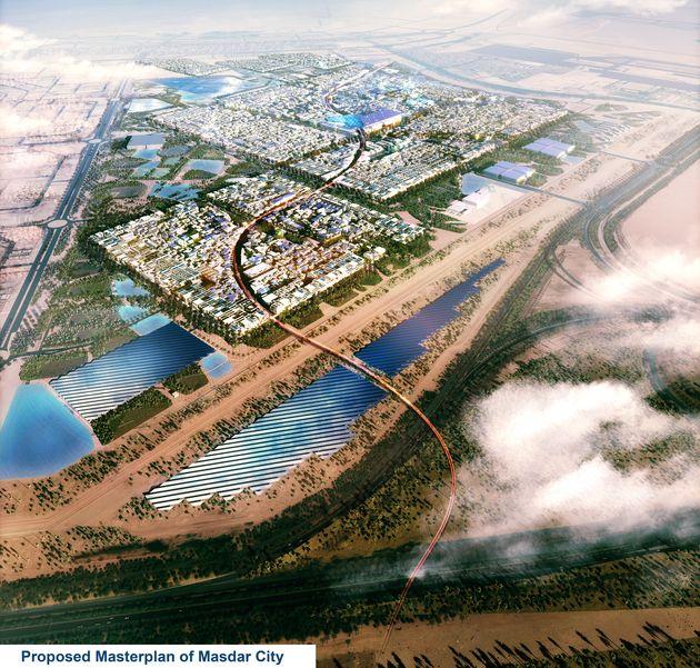 Avec son ambition de ville sans émissions et sans déchets, le projet Masdar s'impose comme pionnier dans le secteur de l'éco-compatibilité.