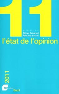 L état de l opinion, de Olivier Duhamel et Edouard Lecerf, publié au Seuil