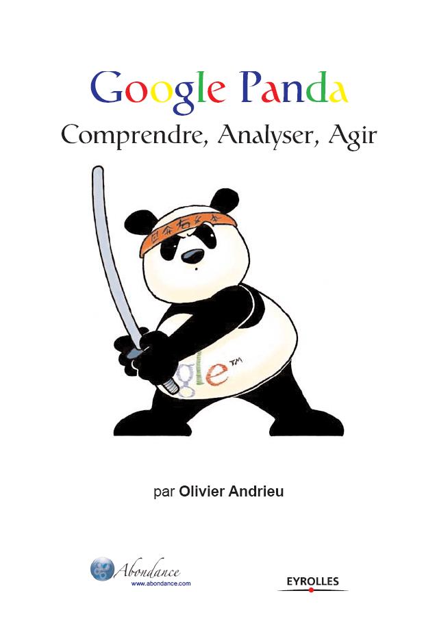 Google Panda, par Olivier Andrieu, publié chez Eyrolles
