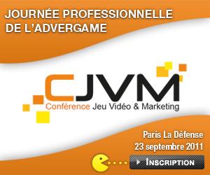 Conférence Jeu Vidéo & Marketing ; vendredi 23 septembre 2011
