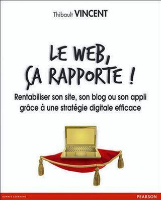 Le web, ça rapporte ! De Thibault Vincent, chez Pearson