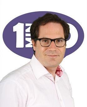 Gabriel Dabi-Schwebel, fondateur de l'agence 1min30