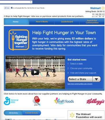 Walmart agit pour venir en aide aux communautés en difficulté