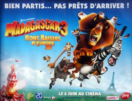 Madagascar 3 : perdu dans la jungle de l'orthographe