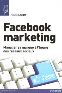 Facebook marketing, de Arnaud Auger, Pearson