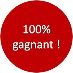 """La CJUE pourrait remettre en cause les loteries promotionnelles """"100% gagnant""""."""