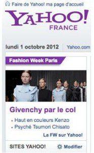 Jeu de mots luxueux et délicat de Givenchy... repéré hier et signalé par notre pisteur Eric Lalier, Agence A Ciel Ouvert
