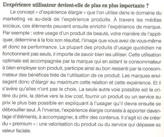 TIC 2013, les nouveaux temps réel, Y. Lejeune (dir.) : l'expérience utilisateur élargie