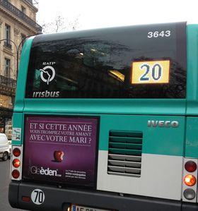 Gleeden : au cul du bus