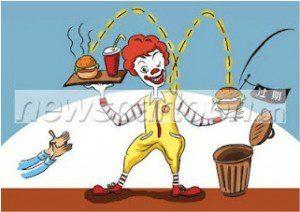 Campagne Mac Donald's pour la sécurité alimentaire en Chine